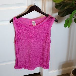Purple Victoria's Secret Pink Tank Top